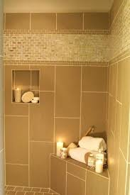 Accent Tile In Shower Image Of Shower Accent Tile Ideas Glass Tile