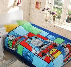 Student Kids Thomas Train Duvet Cover/Boys Doraemon School Single ... & Student Kids Thomas Train Duvet Cover/Boys Doraemon School Single Bed Quilt  Cover/Children Adamdwight.com