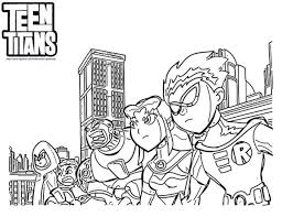 Small Picture 20 Free Printable Teen Titans Coloring Pages EverFreeColoringcom