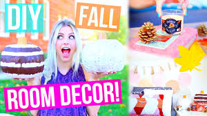 diy fall room decor ideas cute easy aspyn ovard youtube