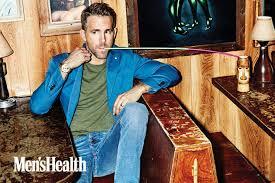 ryan reynolds covers men s health talks workout routine