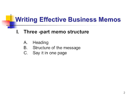 Lecture 5: Writing Effective Business Memos - Ppt Video Online Download