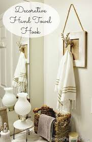 decorative hand towels for bathroom. plain bathroom polished casual decorative hand towel holder make one for your own bathroom  so cute on towels for bathroom e