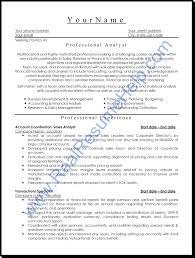 Professional Sample Resume Tomyumtumweb Com