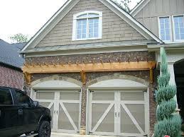 garage door arborGarage Door Trellis Or Arbors A Frame Arched Doorway Openeing