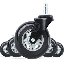 chair casters for hardwood floors. Wonder Wheels Office Chair Replacement Rubber Casters For Hardwood Floors And Carpet LIFELONG Warranty F