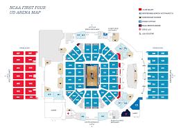 Dayton Arena Seating Chart Ncaa Seating