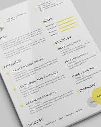 Good Resume Designs