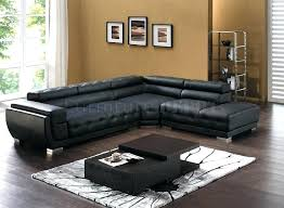 modern leather sectional sofas. Cheap Black Leather Sectional Modern Sofa Captivating Sofas A