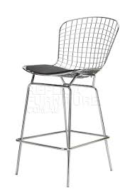 Replica Harry Bertoia Wire Bar Stool