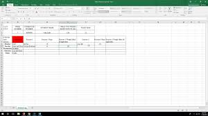 Workout Spreadsheet Completing Excel Workout Log Youtube
