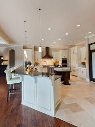 wood floor tile in kitchen home design plan