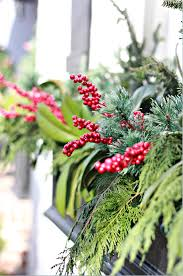 Christmas Window Box Decorations to Decorate Christmas Window Boxes and Outdoor Garland 97