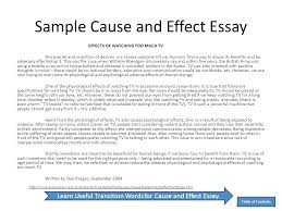 what is a cause and effect essay cause and effect essay outline example awesome collection of how to