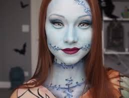 sally nightmare before makeup tutorial lizarda co regarding nightmare before sally makeup