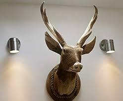 bxvnjsszl sx interest wooden stag head wall decoration
