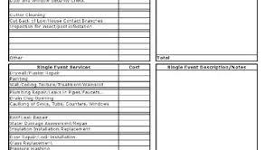 roof repair estimate. gutter cleaning estimate sheets roof repair form t