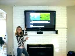 mounting tv on brick fireplace mount to brick fireplace mounting on brick fireplace mount on fireplace mounting tv on brick fireplace