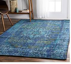 nuloom 200mcgz01c 508 traditional vintage inspired overdyed fancy rug 5 x 8 blue a thrifty mom recipes crafts diy and more
