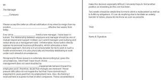 Letter Of Intent To Return To Work After Resignation 40 Two Weeks Notice Letters Resignation Letter Templates