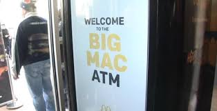 Big Mac Vending Machine New Get A Big Mac From A Vending Machine