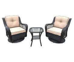 outdoor wicker swivel rocking chair 3 piece resin wicker patio swivel gliders table set at big