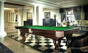carpet pool table rug room