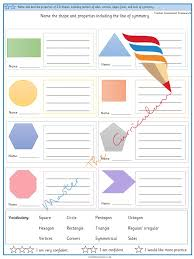 Name And Describe Properties Of 2 D Shapes Including Number
