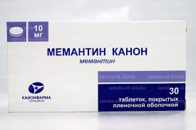 <b>Мемантин</b> Канон тб п/о плен <b>10 мг</b> N <b>30</b> купить в Пермь, описание ...