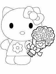 Hello Kitty Kleurplaat Jouwkleurplaten