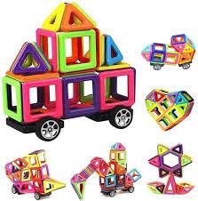 Kids Toy Construction Magnetic Building Blocks 76 Pcs Block Educational Toys | Souq - UAE