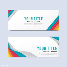 Free Design Templates Colorful And Abstract Banner Design Templates Free Image