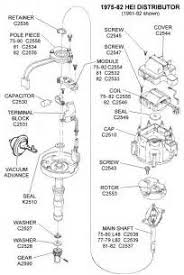 th q gm hei distributor parts diagram gm hei distributor parts diagram gm auto wiring diagram schematic 204 x 305