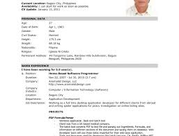 Free Simple Resume Template Simple Resume Templates Free Sample Resume Cover Letter format 75
