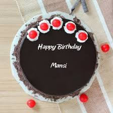 Mansi Happy Birthday Cakes Photos