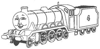 Small Picture Coloring Page Thomas and friends coloring pages 4