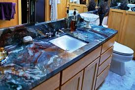 image of paint colors to match blue countertops