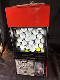Golf Ball Vending Machine Classy Victor 48 Golf Ball Vending Ma Auctions Online Proxibid