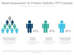 Needs Assessment Or Problem Definition Ppt Example - Powerpoint ...