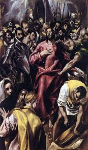 el greco the greek was a painter sculptor and architect of the spanish renaissance he usually signed his paintings in greek letters with his full