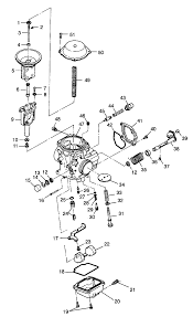 Polaris carburetor asm 3130754 new oem ebay polaris sportsman 500 choke cable removal scrambler 500 wiring diagram polaris 250 carburetor diagram on polaris