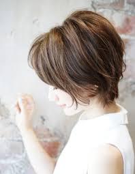 後頭部にボリューム大人ショートse146 ヘアカタログ髪型ヘア