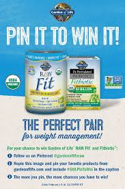pin it to win it garden of life raw fit dr formulated fitbiotic up for grabs in our giveaway repin this using golpintowin in the caption for