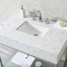 bathroom vanity tops sinks. ace 36 inch single sink bathroom vanity set quartz countertop tops sinks
