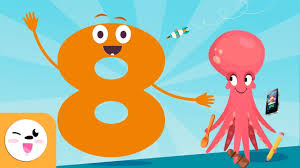 Number <b>8</b> - Learn to Count - Numbers from <b>1</b> to 10 - The Number ...