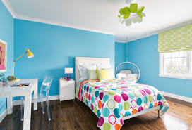 Bright Teenage Girl Bedroom Ideas With Bubble Hanging Chair And