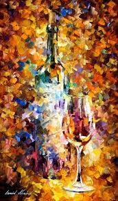oil painting by leonid afremov vino arte cultura viticoltura