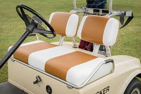 how to reupholster a golf cart seat