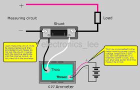 dc ammeter wiring diagram wiring diagram schematics baudetails wiring diagram for digital ammeter wiring wiring diagrams