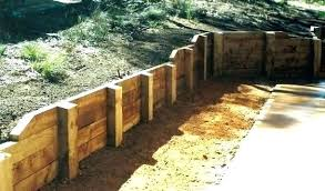 building a wooden retaining wall building a wood retaining wall building a wooden retaining wall endearing